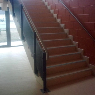 Stairs at Donabate Post Primary
