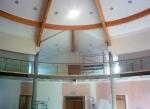 Chapel balcony railing