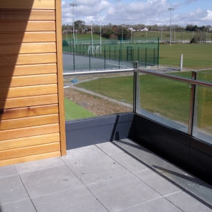 WIT Sports Campus Balcony Railing