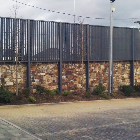 Steel privacy screen / fencing