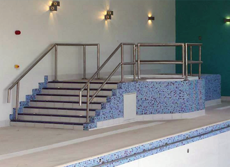 steel and metal work for hotel and leisure